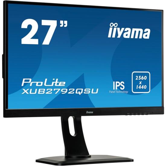 Монитор Iiyama XUB2792QSU-B1 27, Black- купить по выгодной цене в интернет-магазине ОНЛАЙН ТРЕЙД.РУ Уфа