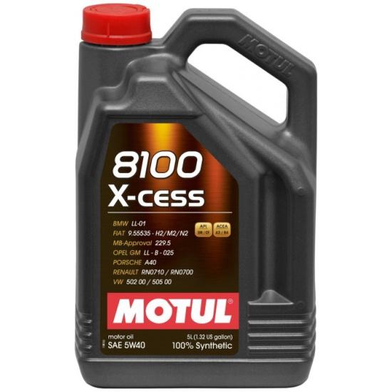 Моторное масло MOTUL 8100 X-Clean 5w-40 4 л - фото 2