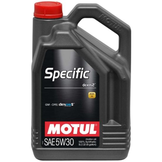 Моторное масло MOTUL Specific Dexos2 5W-30 5 л — купить в интернет-магазине ОНЛАЙН ТРЕЙД.РУ