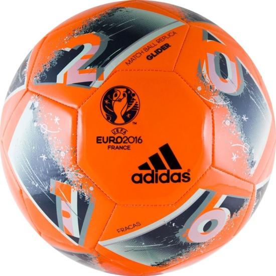 Мяч футбольный ADIDAS EURO 2016 Glider 1b8a3cfdd8882