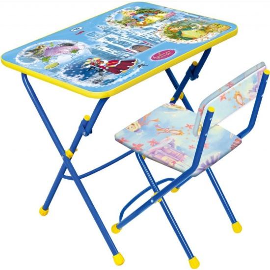 набор детской мебели ника умничка стол стул волшебный мир принцесс