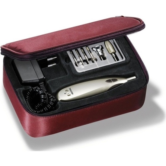 Набор для маникюра и педикюра с 9 насадками BEURER MP60, золотистый 57030 BEURER - купить по выгодной цене в интернет-магазине ОНЛАЙН ТРЕЙД.РУ Тула
