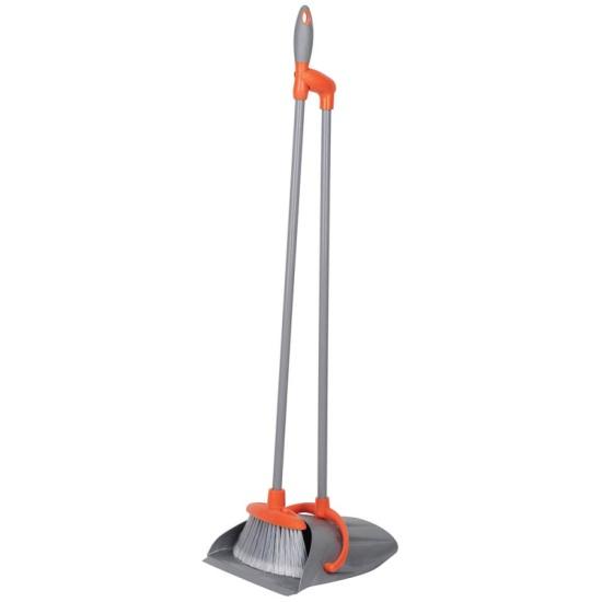 Набор для уборки MASTER HOUSE Чистый пол-1, щетка+совок, высота 80 см — купить в интернет-магазине ОНЛАЙН ТРЕЙД.РУ
