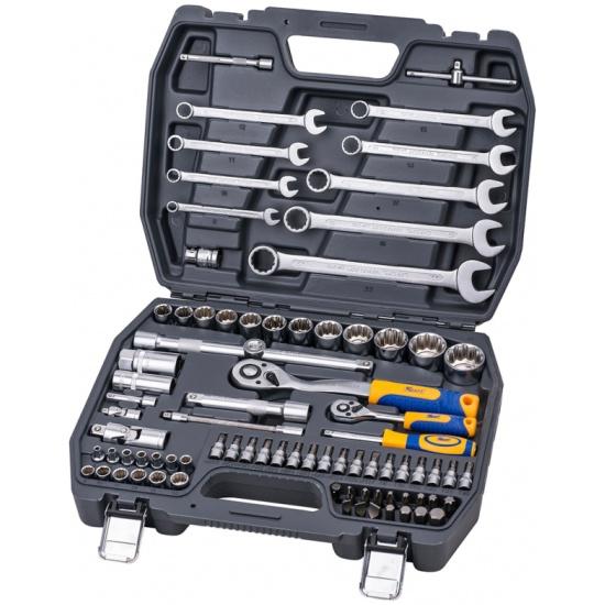 Набор инструментов Kraft КТ 700681, 82 предмета — купить в интернет-магазине ОНЛАЙН ТРЕЙД.РУ
