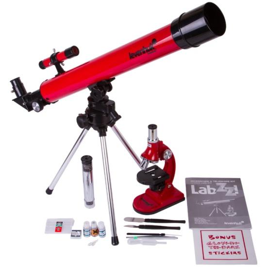 Комплект Levenhuk LabZZ MT2: микроскоп и телескоп — купить в интернет-магазине ОНЛАЙН ТРЕЙД.РУ