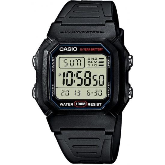 Наручные часы CASIO W-800HG-9A CASIO COLLECTION — купить в интернет ... 1261db1da88