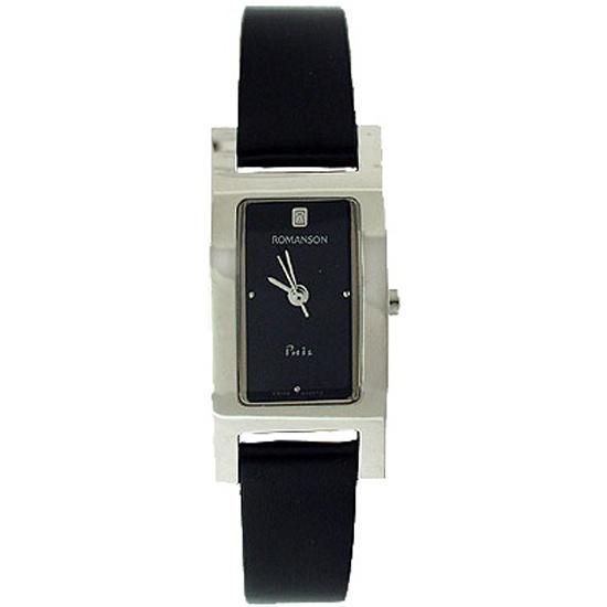 ef772c60d7d4 Наручные часы ROMANSON DL9198LL1WA32W (DL9198 LW BK), женские - купить в  интернет магазине