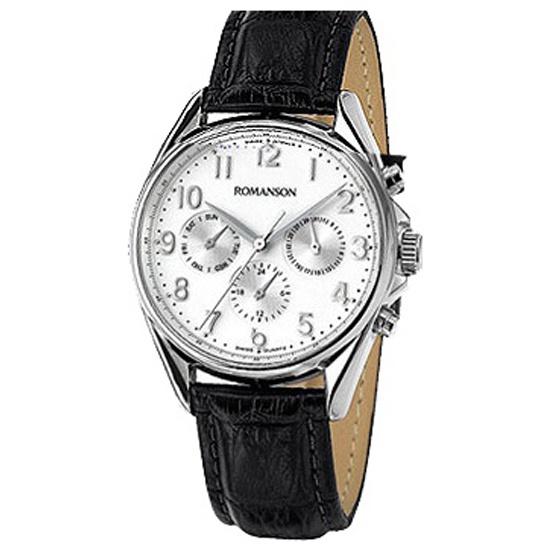 1ca5302f3f56 Наручные часы ROMANSON TL7258MM1WAS2W (TL7258 MW WH), мужские ...