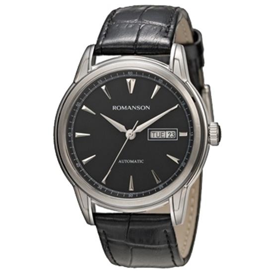 b979a27cbd78 Наручные часы Romanson TL 3223R MW(BK)BK - купить в интернет магазине с