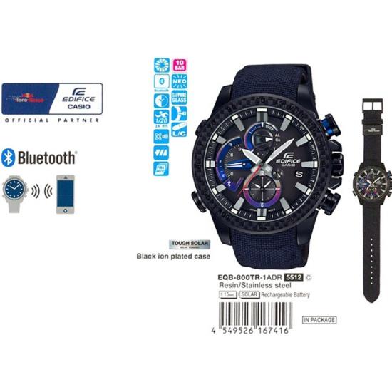 a1080893f9ff Наручные часы CASIO EQB-800TR-1A - купить в интернет магазине с доставкой,