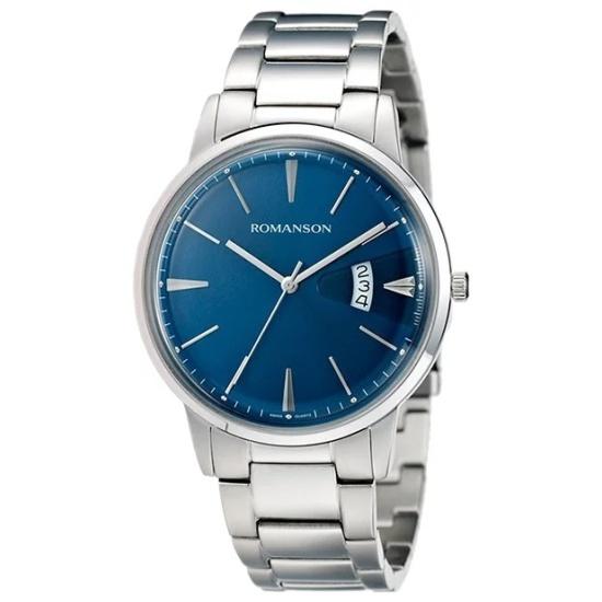 34c97875c8d4 Наручные часы Romanson TM 4201M MW(BU) - купить в интернет магазине с  доставкой