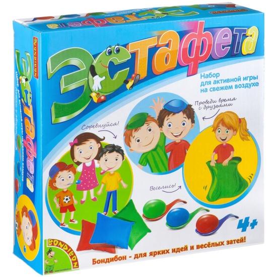 Настольная игра BONDIBON Эстафета Изображение 1 - купить в интернет магазине  с доставкой, цены, ... faf0204a45c