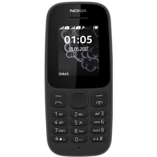 5ad006b490dd5 Мобильный телефон Nokia 105 Dual sim (TA-1034) Black - купить в интернет