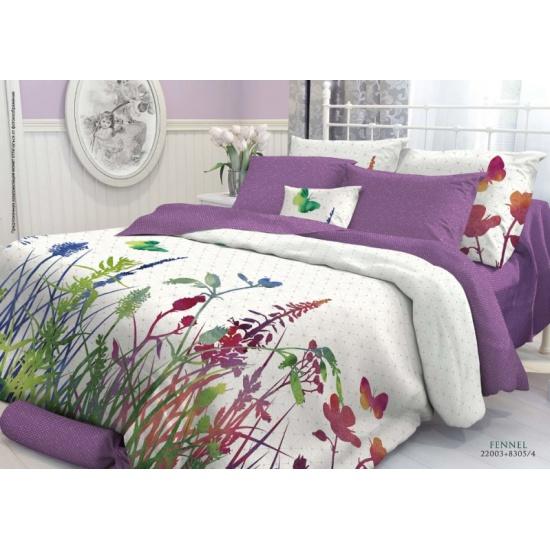 137229aada48 Двуспальный комплект постельного белья Verossa Перкаль Fennel с наволочками  70*70 - купить в интернет
