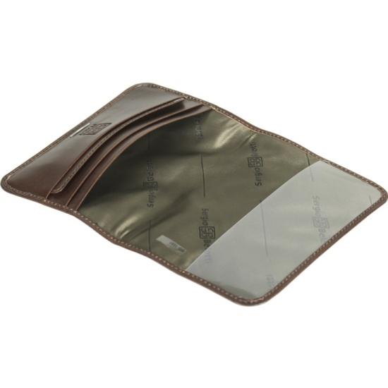 98e44f89f79f ... коричневый Обложка для паспорта мужская Sergio Belotti 1597 ancona brown,  коричневый ...