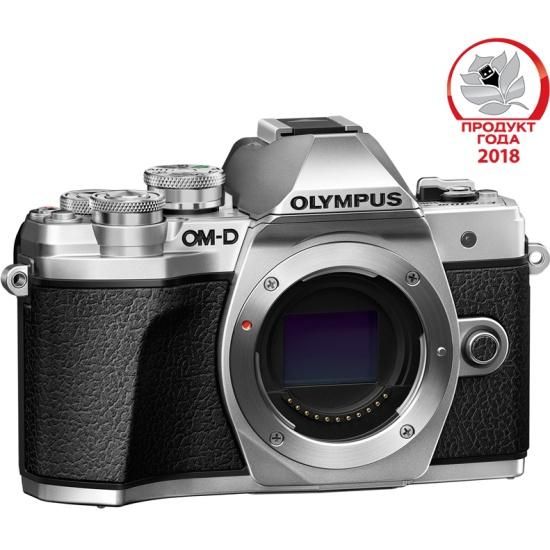 e6def59541a7 Цифровой фотоаппарат Olympus OM-D E-M10 Mark III Body silver - купить в