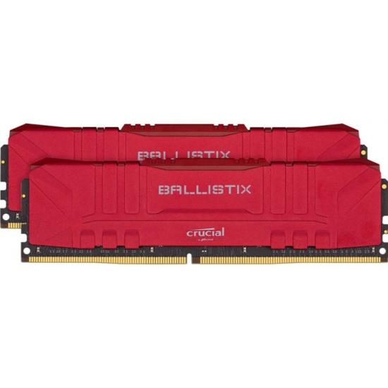 Оперативная память Crucial DDR4 16Gb (2x8Gb) 3000 Mhz pc- 24000 Ballistix Red BL2K8G30C15U4R- купить по выгодной цене в интернет-магазине ОНЛАЙН ТРЕЙД.РУ Пенза