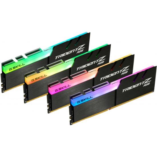 Оперативная память DDR4 G.SKILL TRIDENT Z RGB 64GB (4x16GB kit) 3600MHz CL18 1.35V (F4-3600C18Q-64GTZR) — купить в интернет-магазине ОНЛАЙН ТРЕЙД.РУ