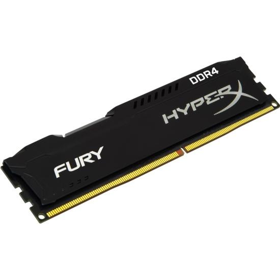 Оперативная память Kingston DDR4 8Gb 2400 MHz pc-19200 HyperX Fury Black (HX424C15FB2/8)