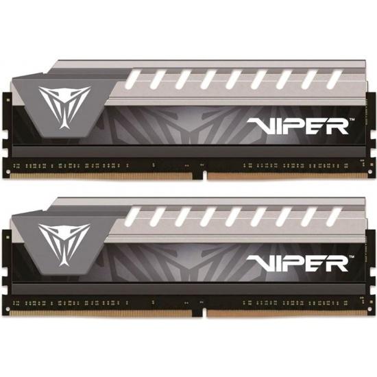 Оперативная память Patriot DDR4 16Gb (2x8Gb) 2666MHz pc-21300 Viper4 Elite Grey PVE416G266C6KGY — купить в интернет-магазине ОНЛАЙН ТРЕЙД.РУ