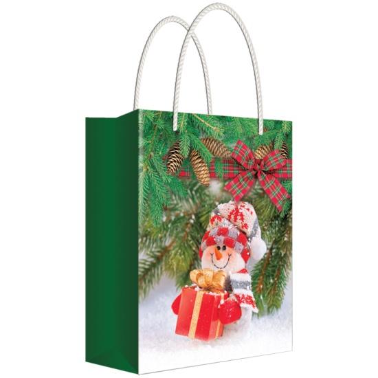 пакеты подарочные ламинированные новогодние