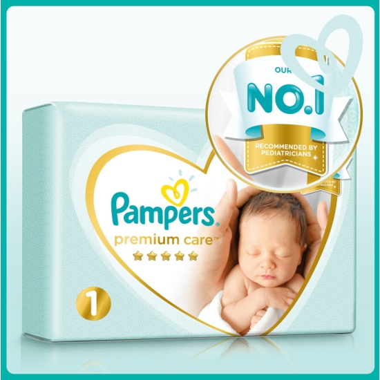 Pampers premium care 4-8 кг