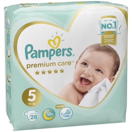Подгузники pampers premium care junior 5
