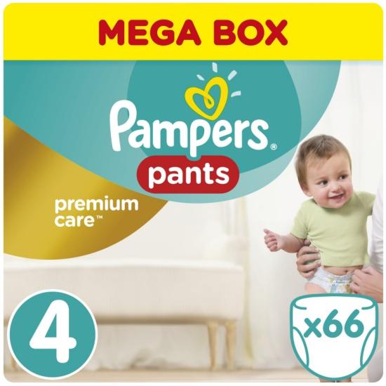 Трусики Pampers Premium Care Pants 4 Maxi (8-14 кг), 66 шт. — купить ... f3fd082f4f3