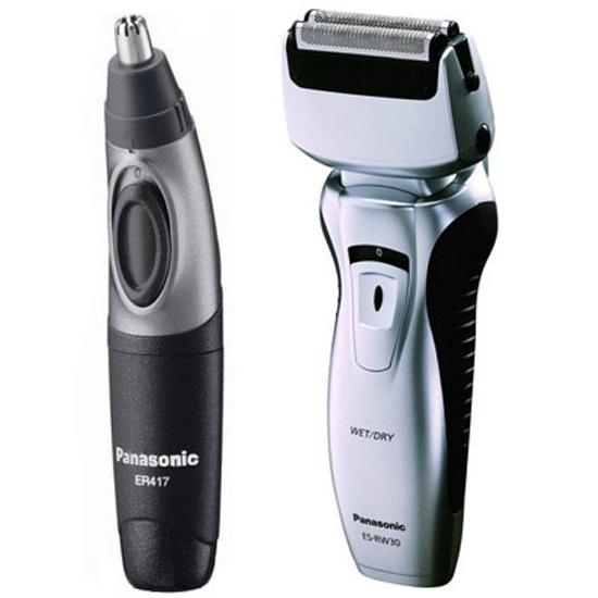 Электробритва Panasonic ES-RW30-CM520 + Триммер Panasonic