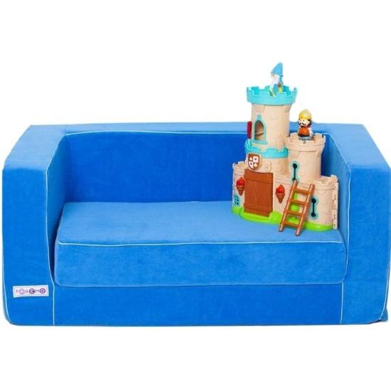 Раскладной диван PAREMO, голубой — купить в интернет-магазине ОНЛАЙН ТРЕЙД.РУ