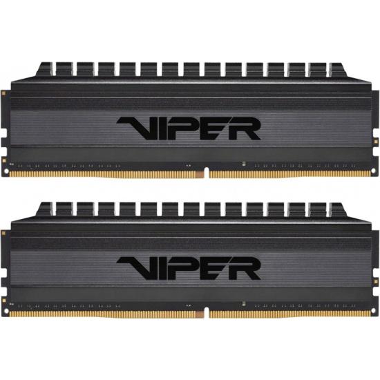 Оперативная память Patriot DDR4 16Gb (2x8Gb) 3200MHz pc-25600 Viper Blackout (PVB416G320C6K) — купить в интернет-магазине ОНЛАЙН ТРЕЙД.РУ