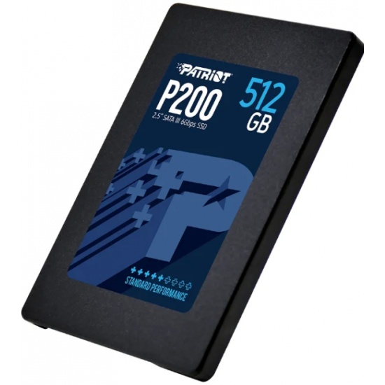 SSD диск PATRIOT 2.5 P200 512 Гб SATA III н/д P200S512G25- купить в интернет-магазине ОНЛАЙН ТРЕЙД.РУ в Ижевске.