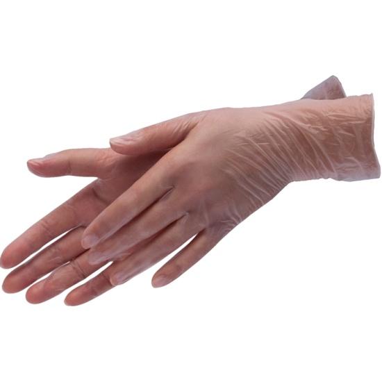 Перчатки виниловые Planet Nails, S, 100 шт