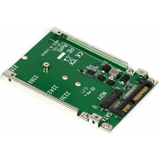 "Переходник-конвертер Smartbuy DT-119 для M.2 NGFF SATA SSD в 2.5"" 7mm SATA — купить в интернет-магазине ОНЛАЙН ТРЕЙД.РУ"
