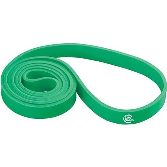 Петля тренировочная многофункциональная Lite Weights 208*2,1*0,45см 0825LW (25кг, зеленая) - купить в интернет-магазине ОНЛАЙН ТРЕЙД.РУ