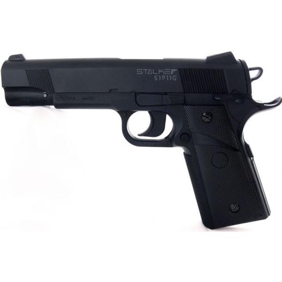 Пистолет пневматический STALKER S1911G (аналог Colt 1911) 6901911120518 - купить по выгодной цене в интернет-магазине ОНЛАЙН ТРЕЙД.РУ Санкт-Петербург