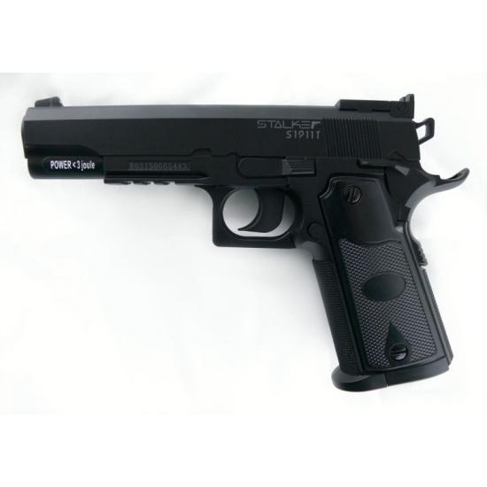 Пистолет пневматический STALKER S1911T (аналог Colt 1911) 6900911120511 - купить по выгодной цене в интернет-магазине ОНЛАЙН ТРЕЙД.РУ Санкт-Петербург
