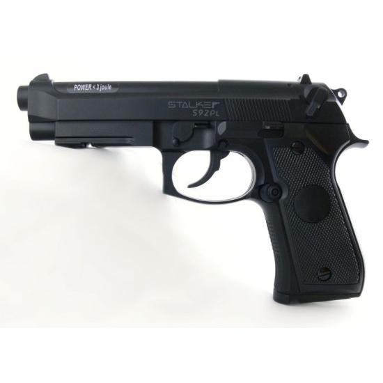 Пистолет пневматический STALKER S92PL (аналог Beretta 92) 6900092120515 - купить по выгодной цене в интернет-магазине ОНЛАЙН ТРЕЙД.РУ Санкт-Петербург
