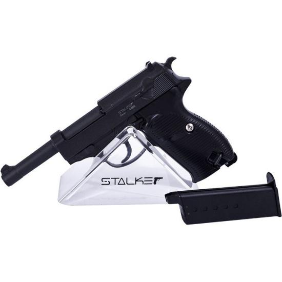 Пистолет пневматический STALKER SA38 Spring (аналог Walther P38) — купить в интернет-магазине ОНЛАЙН ТРЕЙД.РУ