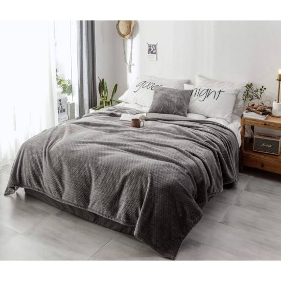 Плед Sofi de Marko Вива, 210х230, серый — купить в интернет-магазине ОНЛАЙН ТРЕЙД.РУ