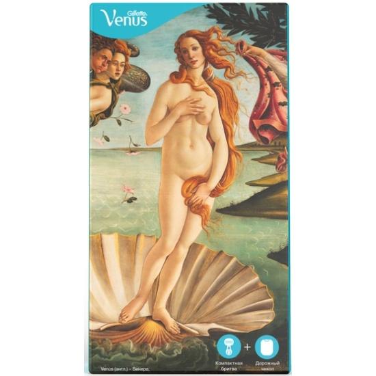 Подарочный набор VENUS Snap (Бритва + Дорожный чехол) 7702018530243 - купить по выгодной цене в интернет-магазине ОНЛАЙН ТРЕЙД.РУ Санкт-Петербург