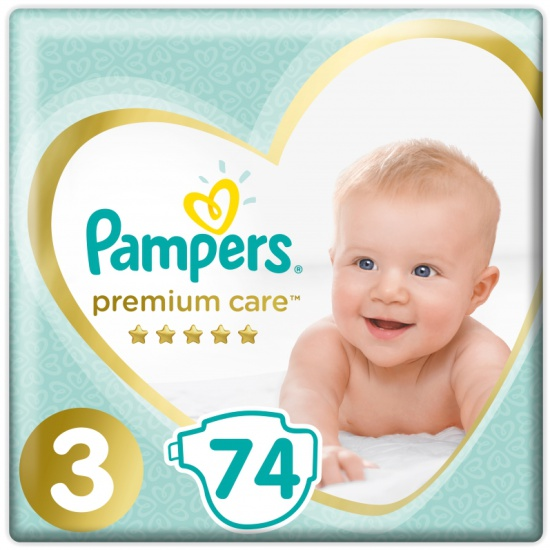 Подгузники pampers premium care цена