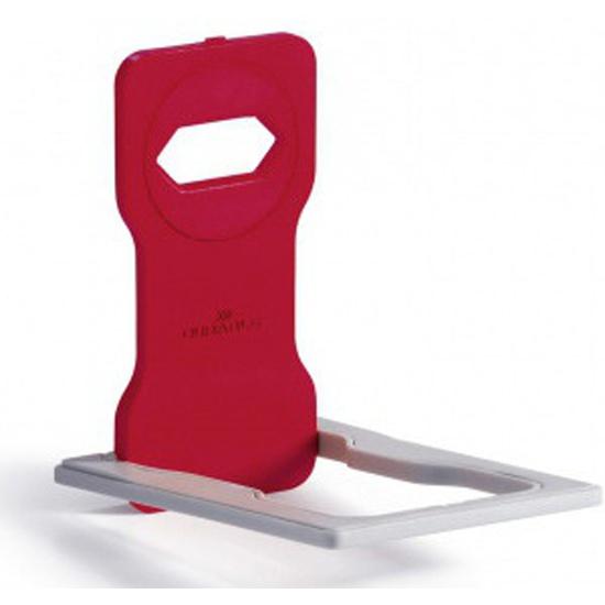 Подставка для мобильного телефона Durable 7735-03 Varicolor 84x134x4.5 мм красный/серый — купить в интернет-магазине ОНЛАЙН ТРЕЙД.РУ