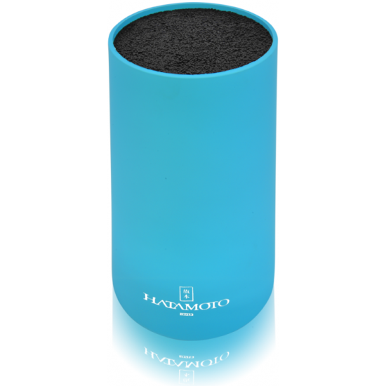 0840f4bb7776 Подставка для ножей Hatamoto COLOR PWBS-15D-BLU круглая, голубая