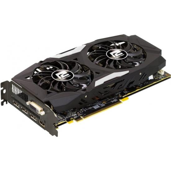 Видеокарта PowerColor Radeon RX 570 1250Mhz PCI-E 3.0 4096Mb 7000Mhz 256 bit DVI HDMI HDCP Red Dragon (AXRX 570 4GBD5-3DHD/OC) — купить в интернет-магазине ОНЛАЙН ТРЕЙД.РУ