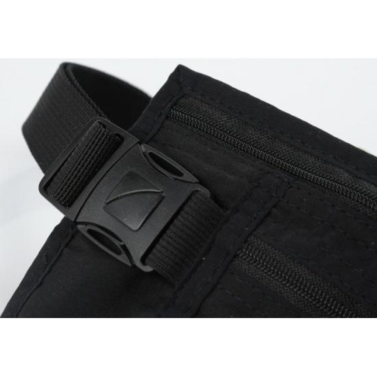 e7e8838808b9 ... черный Поясная сумка-кошелек тонкая Travel Blue Ultra Slim Money Safe,  ...