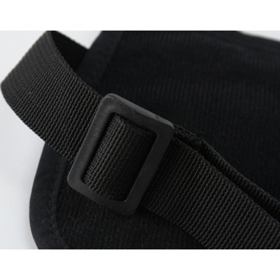 6330ff3ea045 ... черный Поясная сумка-кошелек тонкая Travel Blue Ultra Slim Money Safe,  черный