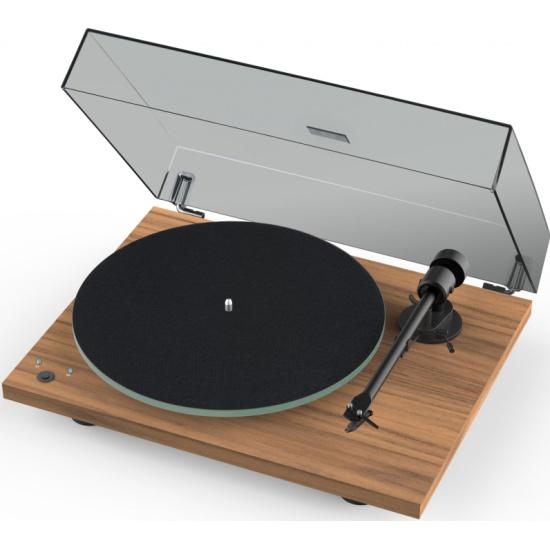 Проигрыватель виниловых дисков Pro-Ject T1 Phono SB (OM 5E), орех — купить в интернет-магазине ОНЛАЙН ТРЕЙД.РУ