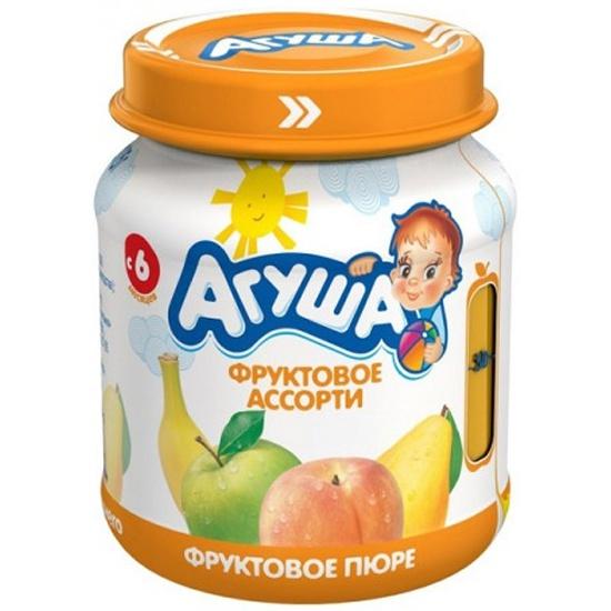 Агуша пюре фруктовое в пакете