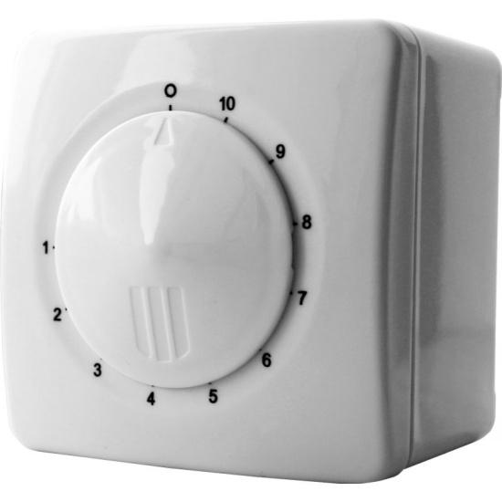 Регулятор скорости ERA РС-Н 2,5А для вентиляторов (накладной монтаж) - купить в интернет магазине с доставкой, цены, описание, характеристики, отзывы